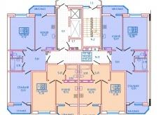 Новостройка, 62,3 м²